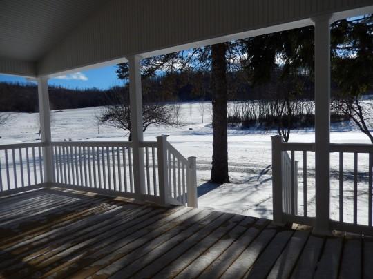 Wintertime view
